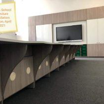 education sector - furniture desks shot